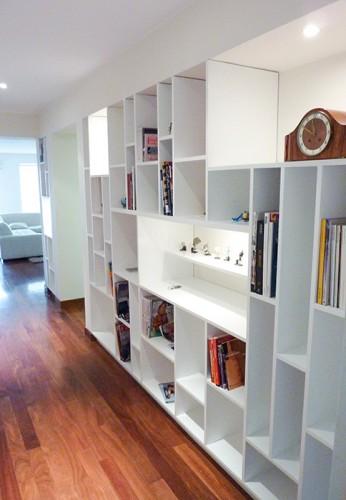 Librero Nichos